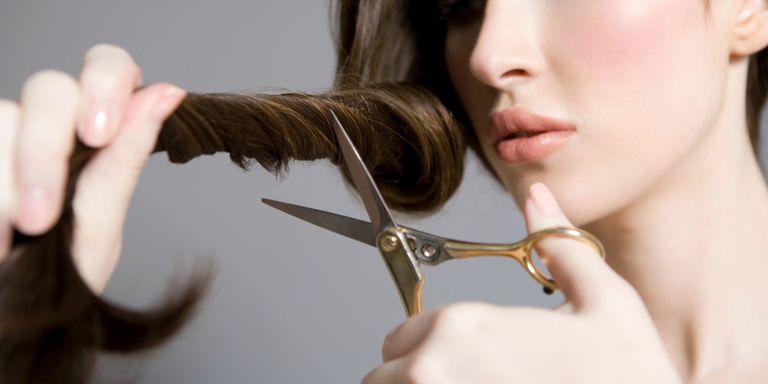 You should never cut your own hair diy haircut advice getty images solutioingenieria Choice Image