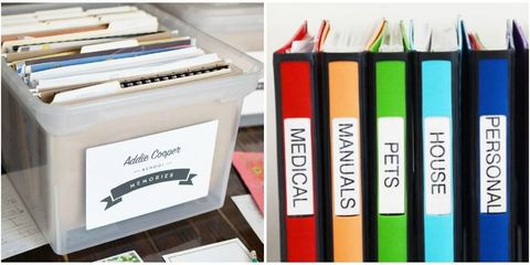 how to organize your papers home paperwork organization ideas