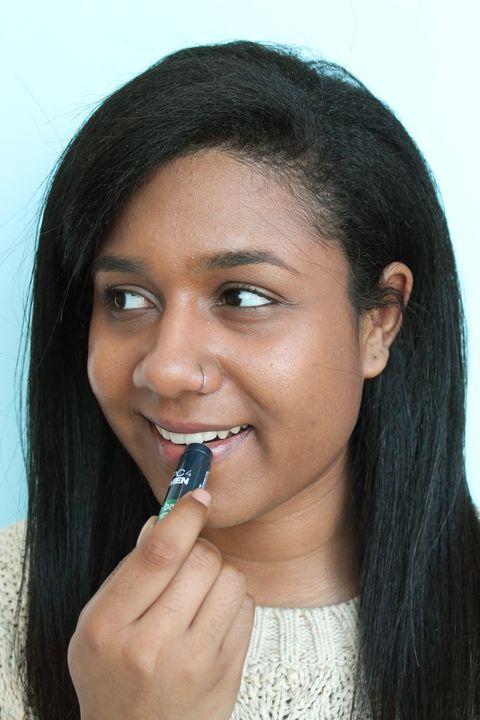 Lip, Smile, Cheek, Mouth, Hairstyle, Skin, Chin, Forehead, Eyebrow, Black hair,