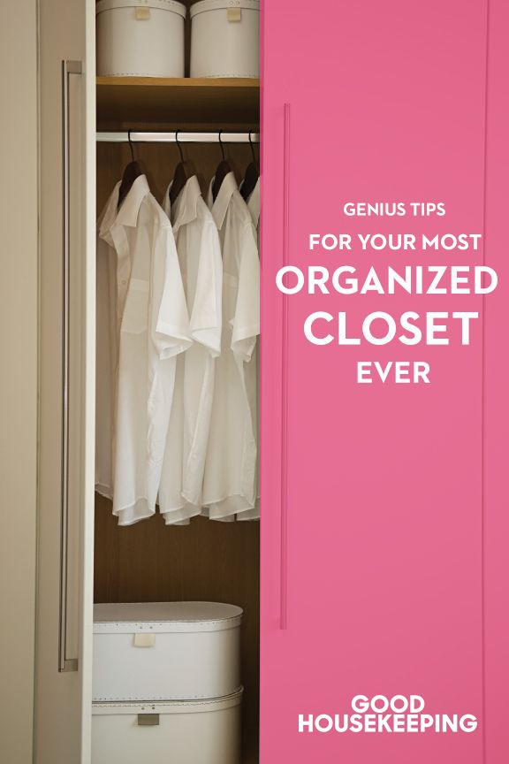 Organization Closet Ideas Part - 36: Good Housekeeping
