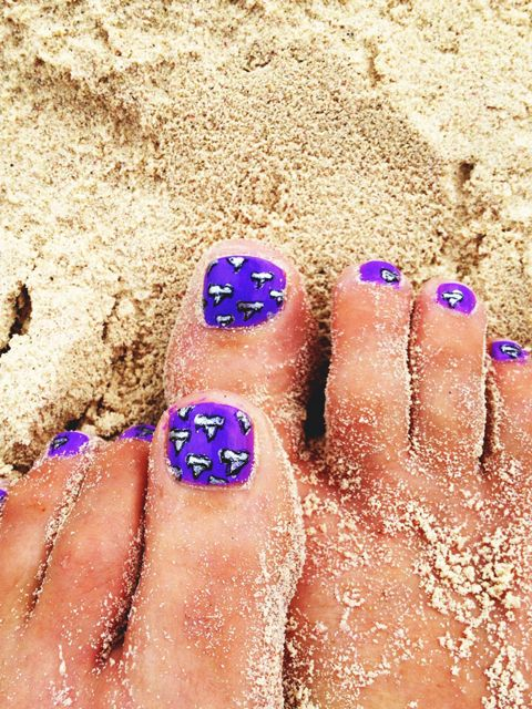 "<p>Get your toes ready for an escape to the beach — even if you're just daydreaming about it. What's a sandicure? Picture a still-wet pedicure that's been sprinkled with sand. There's not much more to it than that; <a href=""http://www.goodhousekeeping.com/beauty/nails/a37053/sand-nail-art/"" target=""_blank"">click here</a> to learn how to pull it off.  </p>"