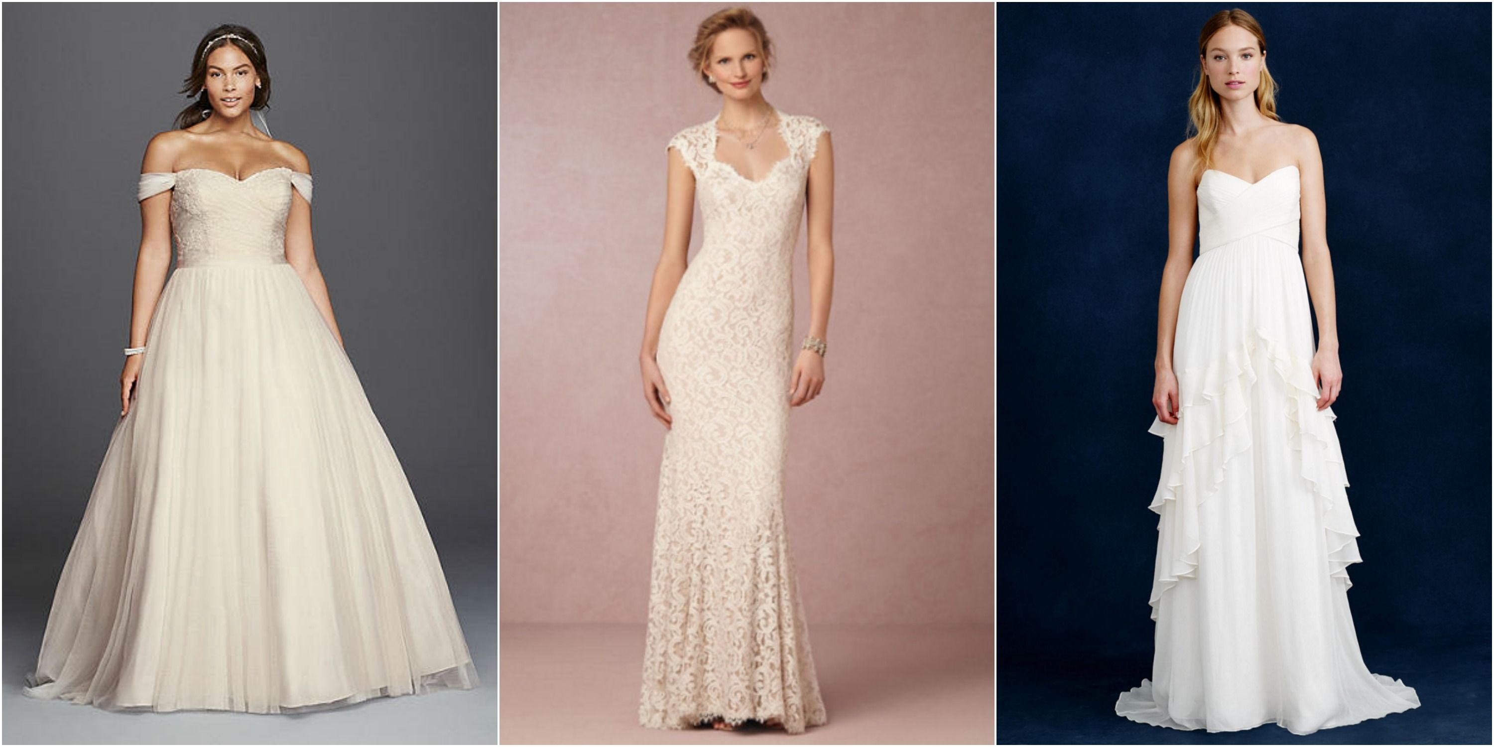 20 Cheap Wedding Dresses Under 1000 That Look Expensive Affordable Bridal Gowns
