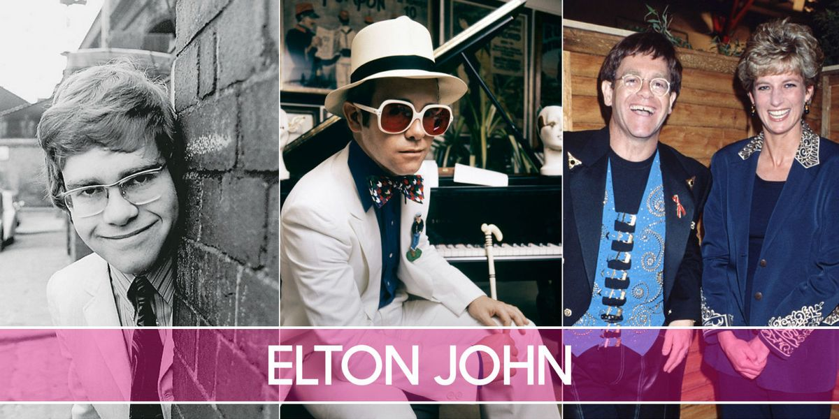 Elton John's Life Through the Years — Young Elton John Photos