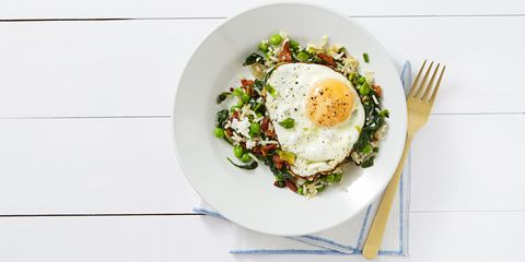 Bacon & Egg Fried Rice April 2016