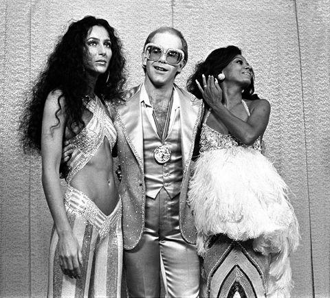 Elton John Through The Years