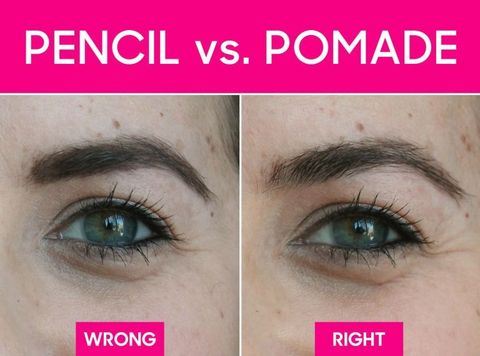 pencil vs powder