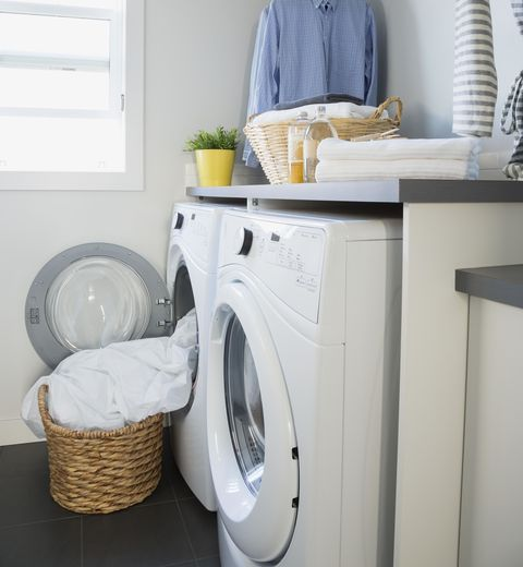 "<p>Aside from the air-conditioning work-around, ""We don't have a clothes dryer; once we got rid of ours, we ended up saving $30 every month!"" Wagasky says. ""Now we use the clothesline, which I love.""</p>"