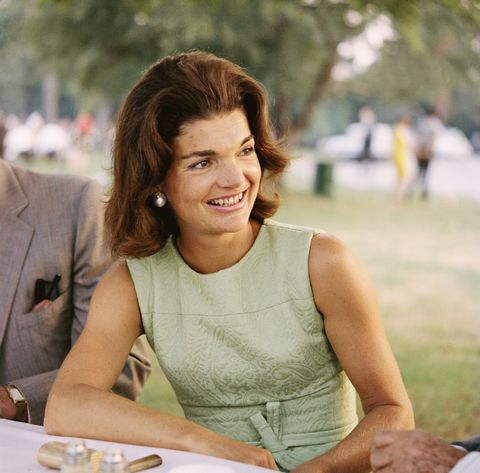 "<p>As one of the most influential figures in fashion, <a href=""http://www.goodhousekeeping.com/life/entertainment/a33611/jackie-kennedy-onassis-facts/"" target=""_blank"">First Lady Jackie Kennedy Onassis</a> popularized this voluminous style.</p>"