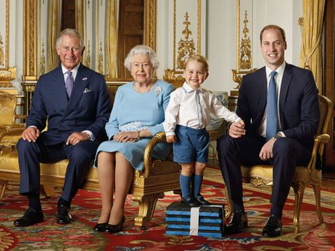 Royal Family Portrait for Queen's Birthday