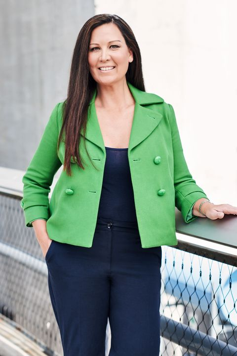 Green, Sleeve, Coat, Collar, Outerwear, Standing, Blazer, Pocket, Street fashion, Teal,