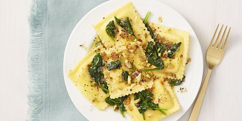 ghk_0516_Ravioli With Brown Butter Spinach