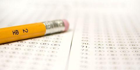 no. 2 pencil and exam