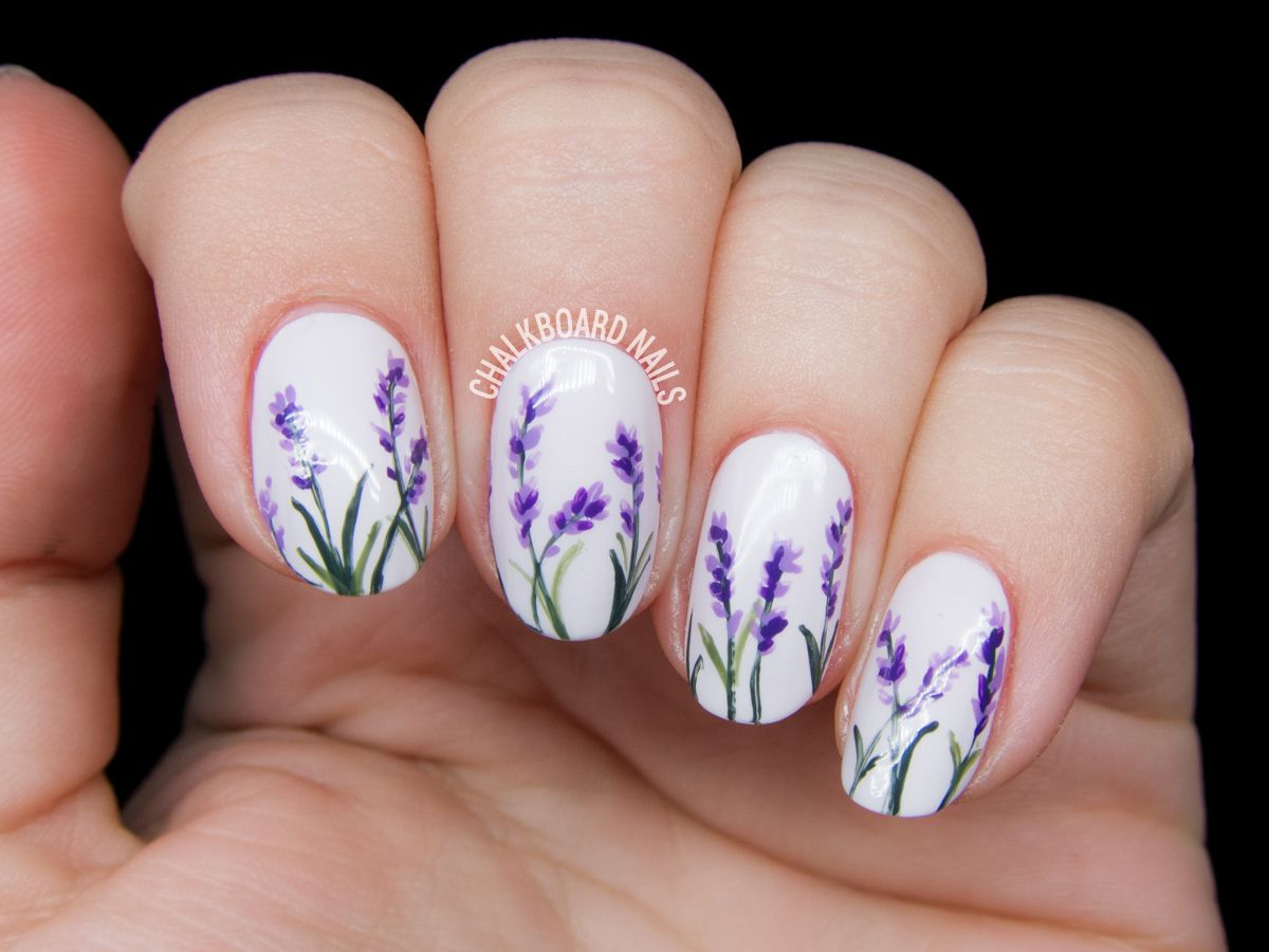 20 Flower Nail Art Design Ideas - Easy Floral Manicures for Spring ...