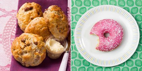 scones vs. donut