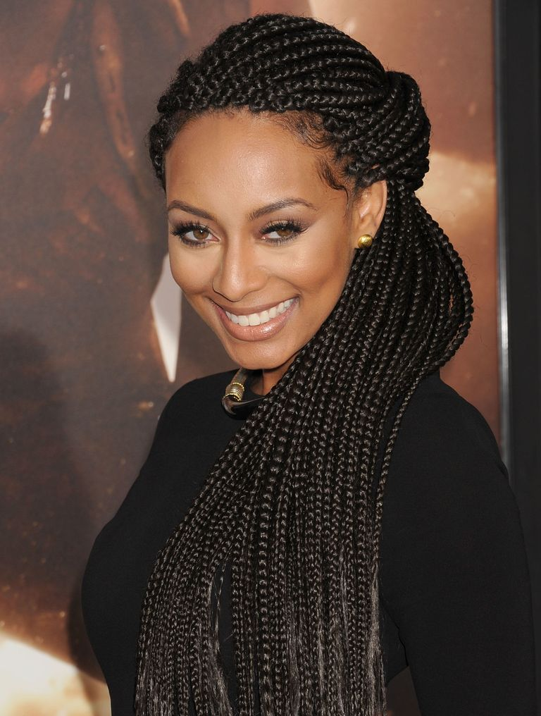 30 Popular Hairstyles for Black Women | Half-Up Box Braids | Hairstyle on Point