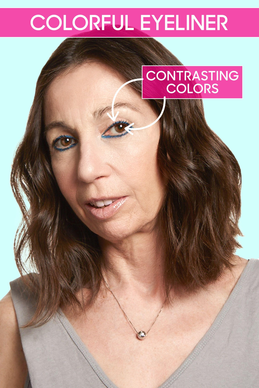 Eyeliner tips for over 40
