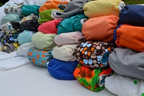 Blue, Textile, Orange, Thread,