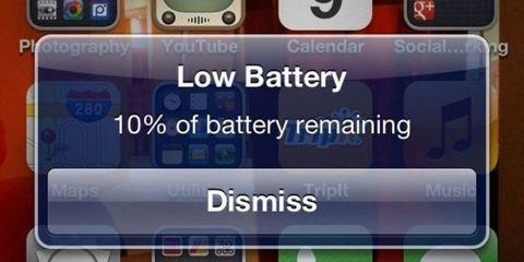 Battery Low Warning