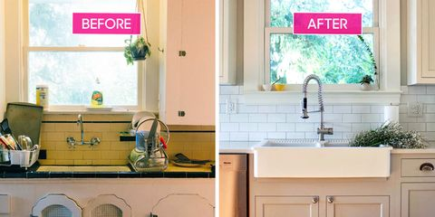 Old to New Kitchen Makeovers - Beautiful Kitchen Renovation Ideas Older Kitchen Update Ideas on older kitchen remodel, older kitchen help, older home, older kitchen cabinets, older bedroom,