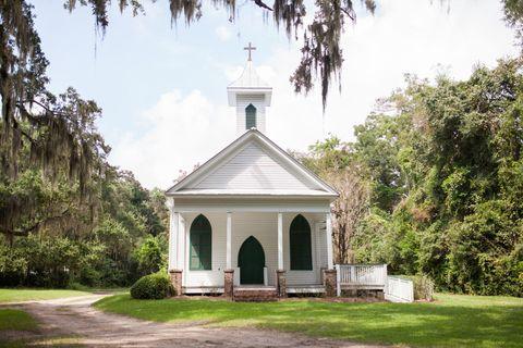 White Church Exterior