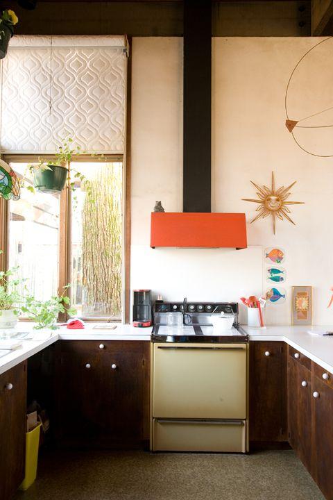 Lighting, Room, Interior design, Ceiling, Floor, Cabinetry, Fixture, Interior design, Cupboard, Kitchen,