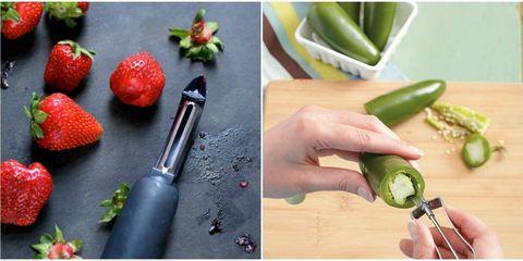 Finger, Ingredient, Produce, Food, Natural foods, Strawberry, Strawberries, Vegetable, Vegan nutrition, Whole food,
