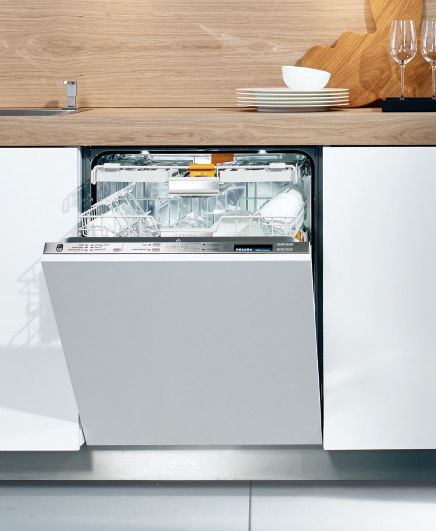 """<p>With heavy-duty cleaning power and genius features like an adjustable top cutlery tray and fold-down tines, Miele dishwashers always top our tests. This new model has 11 cycles for all types of loads and the bonus of a self-opening door instead of a handle. Plus, you can custom-match the outer panel to your kitchen's decor for a truly seamless look. </p><p><em>($1,800, <a href=""""http://mieleusa.com"""" target=""""_blank"""">mieleusa.com</a>)</em></p>"""