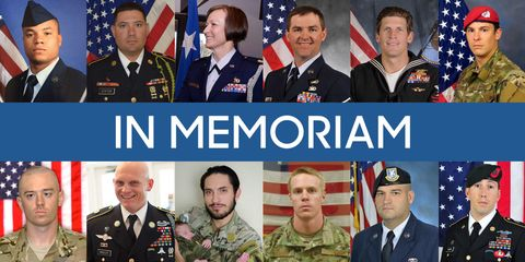 Faces of the Fallen: Soldiers Who Lost Their Lives in 2015
