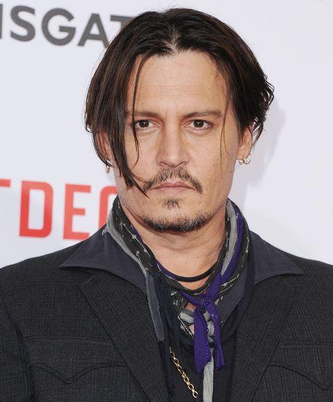 Johnny Depps Haircut Looks Like Edward Scissorhands