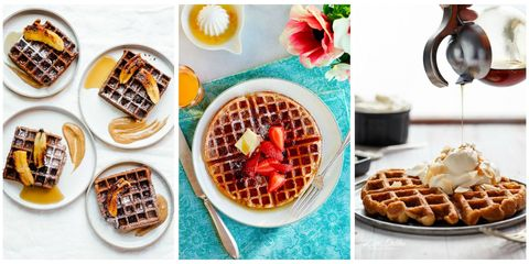 Waffle Recipes Collage