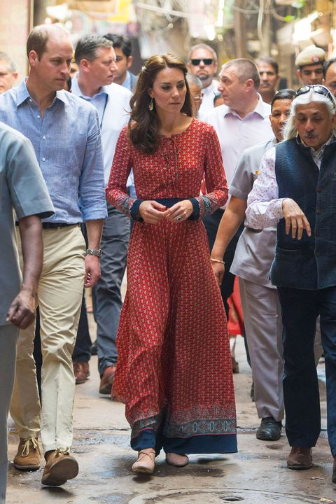 1564cf555a80 Catherine, Duchess of Cambridge, wearing casual clothes.