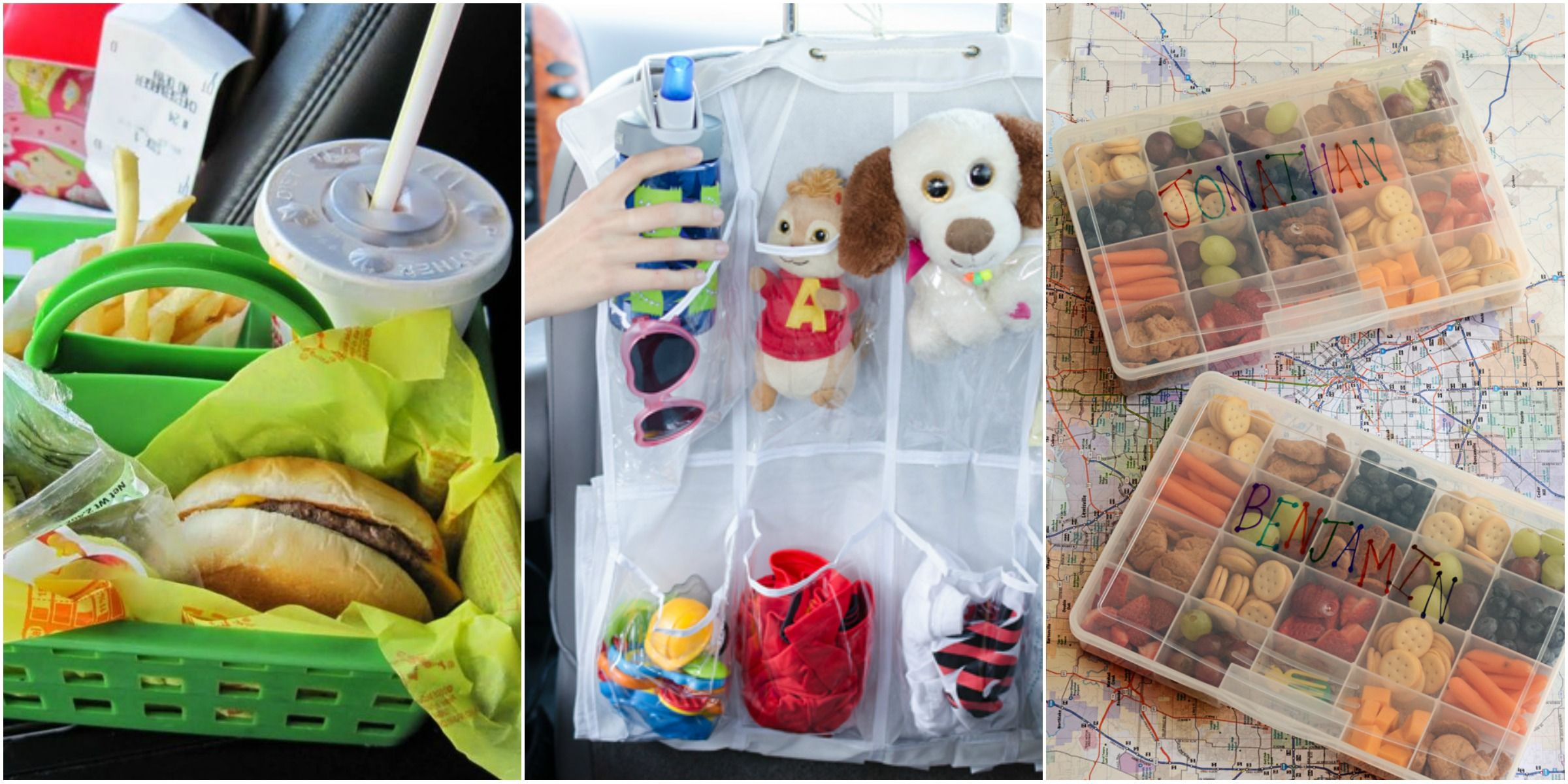 Road Trip Organizers How To Organize Your Car When Traveling With Kids