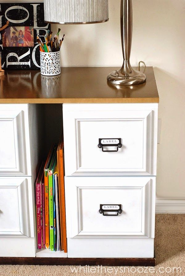 9 Filing Cabinet Makeovers New Uses, Stylish File Cabinet
