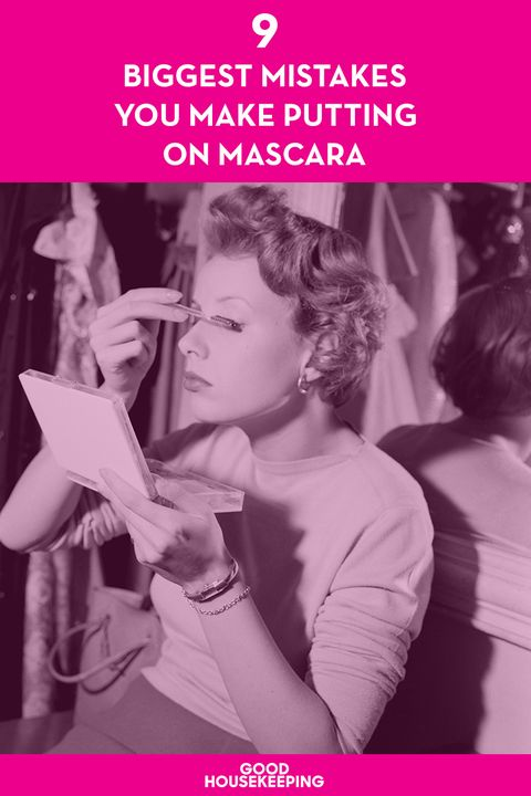 518eaa2b3a9 Mistakes You're Making with Your Mascara - Mascara Mistakes