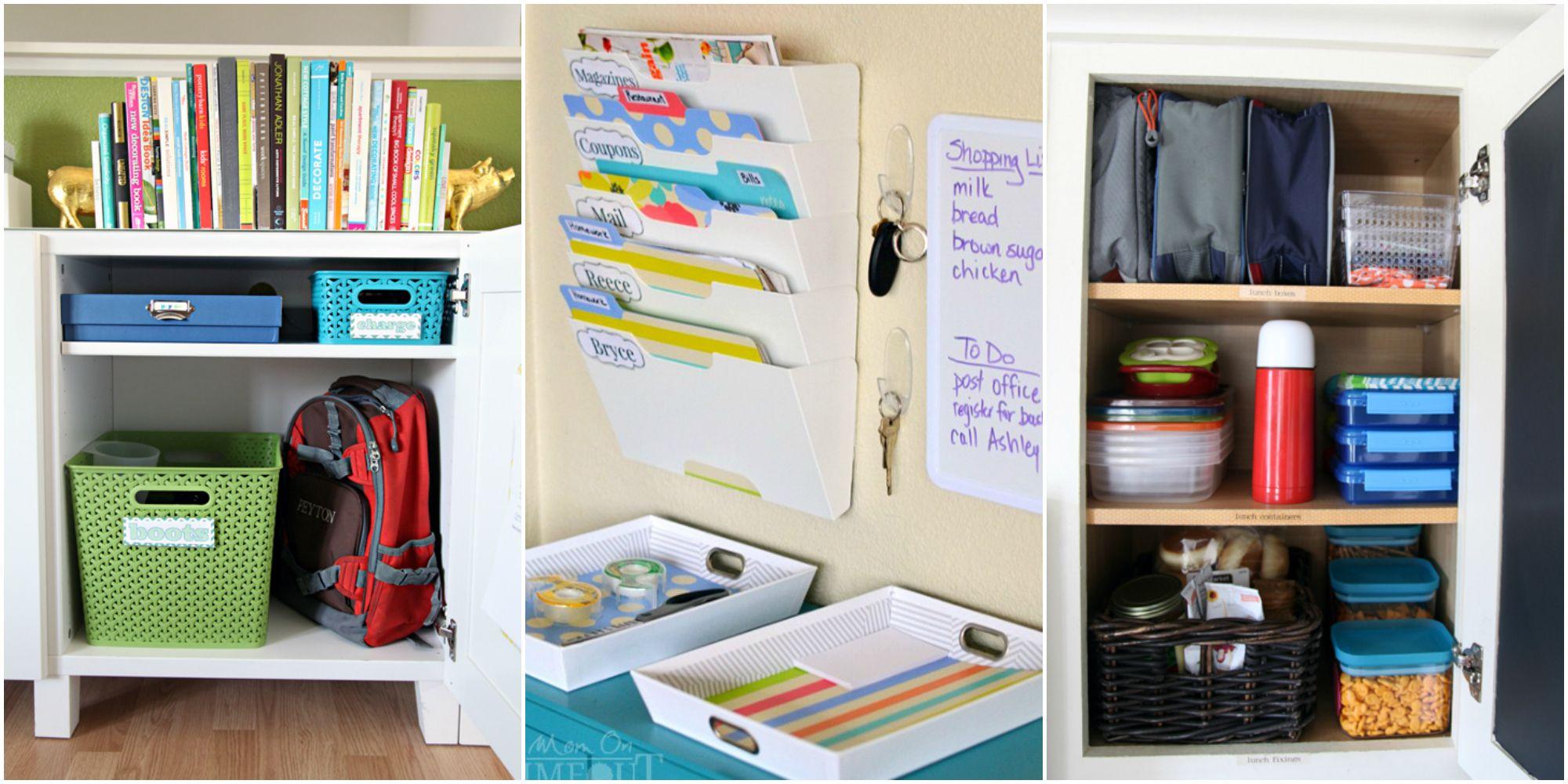 27 Back to School Organizing Tips