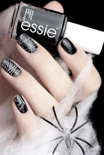 48 Halloween Nail Art Ideas 2020 Easy Halloween Nail Polish Designs
