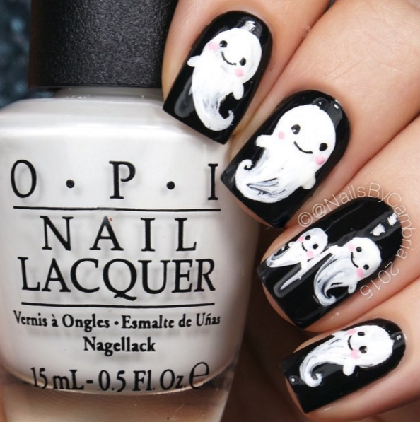 - 41 Halloween Nail Art Ideas - Easy Halloween Nail Polish Designs