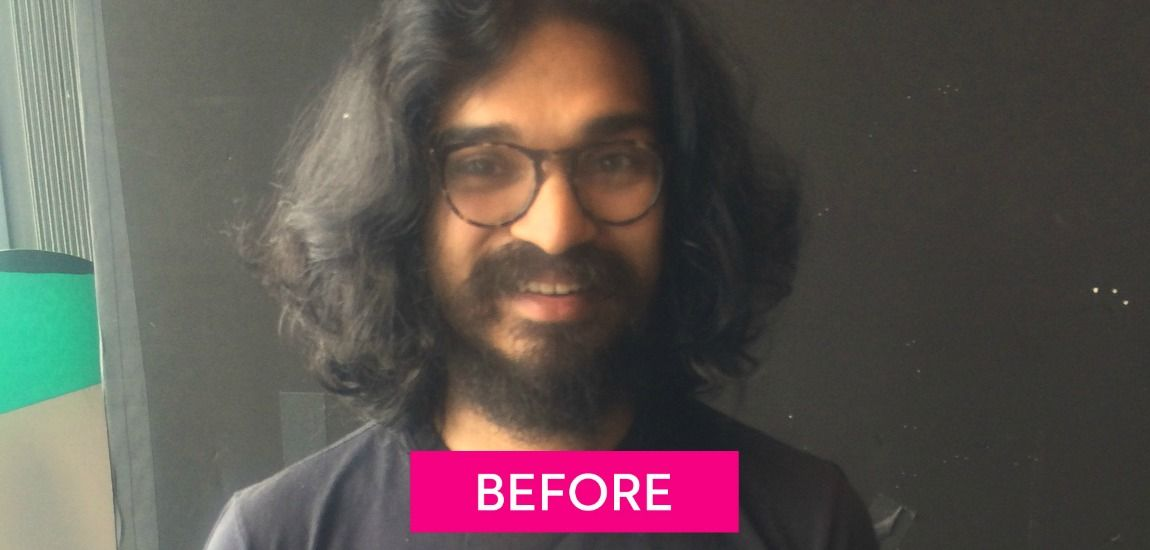 Watch What Went Down When We Gave This Average Dude A Dramatic Makeover