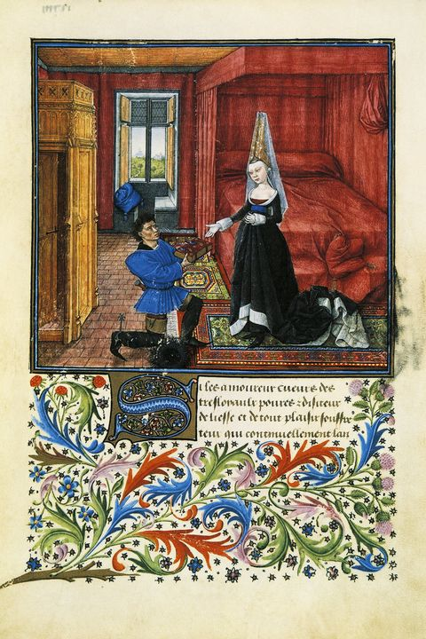 middle ages maternity style paper