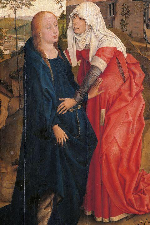 the visitation van der weyden rogier