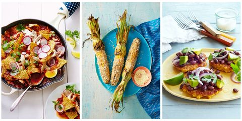 30 easy mexican dinner ideas best recipes for homemade mexican food were sharing mexican inspired fritters soups chilaquiles and more that way you can have an instant fiesta any night of the week forumfinder Choice Image
