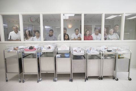 Baby nursery at hospitals