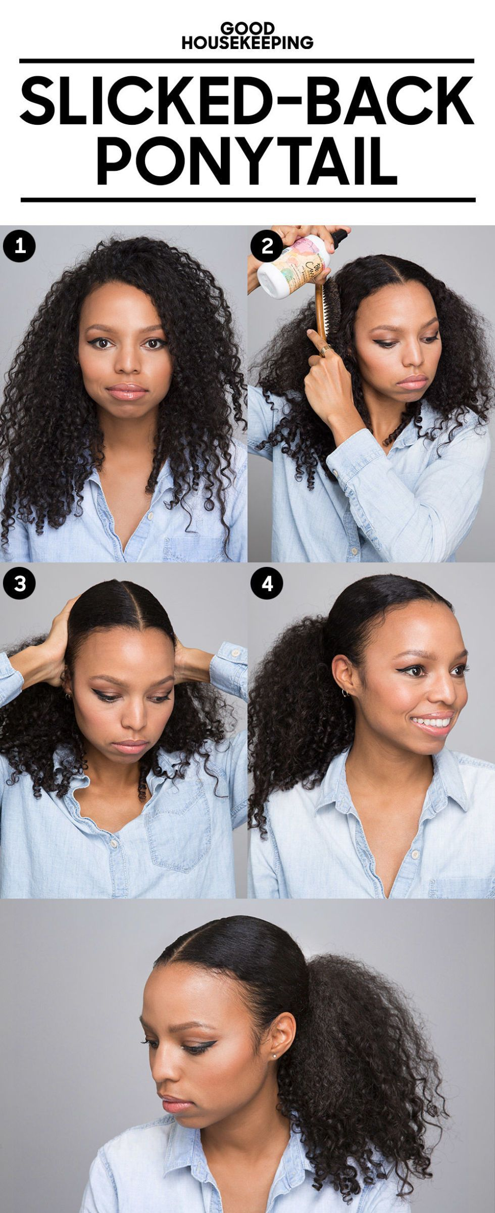 Curly Hair Tips popular hairstyle