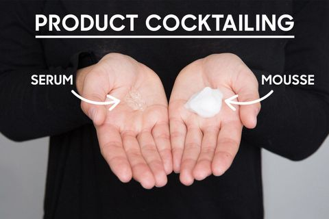 Hair Product Cocktailing How To Mix Products For Curly Hair