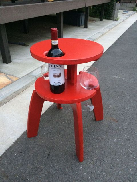 wine table hack