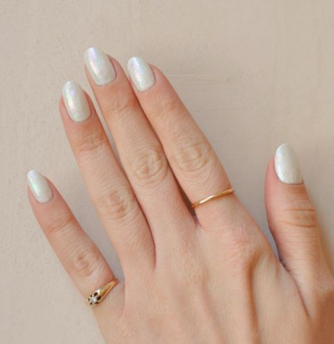 wedding nail designs - bridal nail art ideas