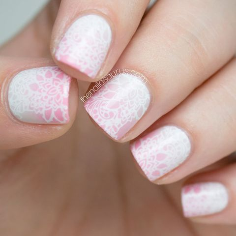 Beautiful Nail Designs For Weddings Bridal Nail Art Ideas