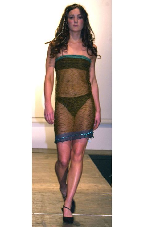 <p>This now infamous catwalk show was the moment Prince William reportedly first laid eyes on Kate Middleton. Possibly the most scandalous outfit a royal has ever worn? Well, she wasn't <em>technically</em> a royal back then, was she? </p>