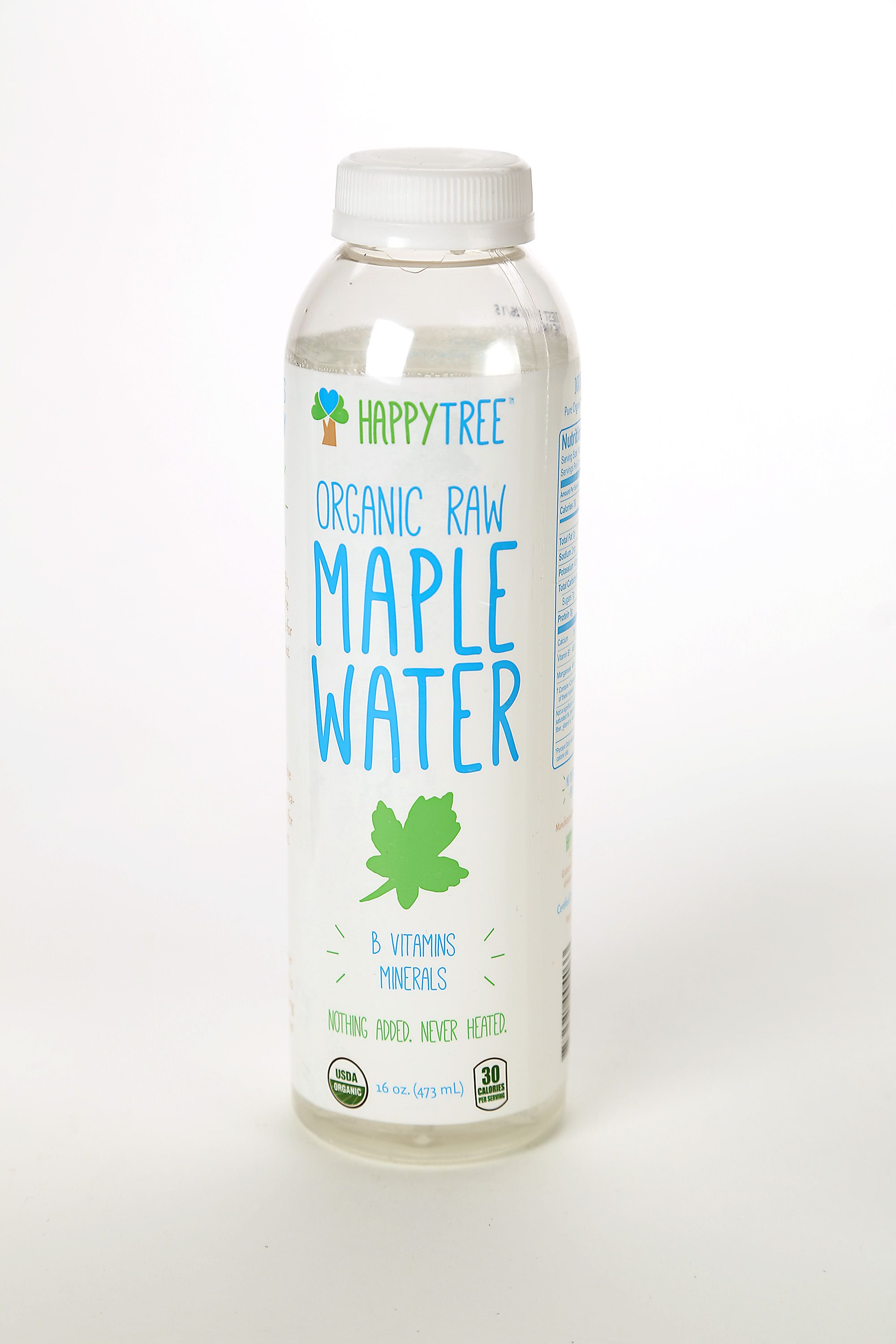 Coconut water has been big for a couple years; now we can find cactus water, maple water, almond, olive, artichoke and watermelon water. There are called Crazy Water from Mineral Wells resort in Texas. Ultra cool blk water is enhanced with 60 fulvic-trace minerals. Pictured is organic raw MAPLE WATER form HappyTree. (