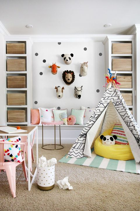 1 disguise your storage - Kids Playroom Ideas